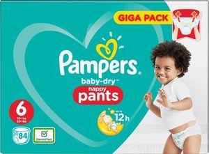 Pampers Baby Dry Nappy Pants Maat 6 - 84 Luierbroekjes (15+kg)