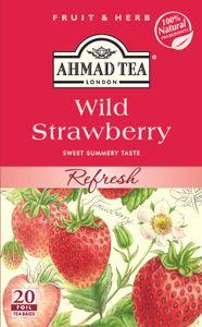 Ahmad Tea- Wild Erdbeeren 40g, 20 Beutel