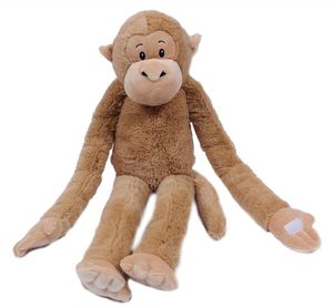 Stofftier Hängeaffe, braun, 95 cm, hängend, Kuscheltier Plüschtier, Affe Affen Hängeaffen
