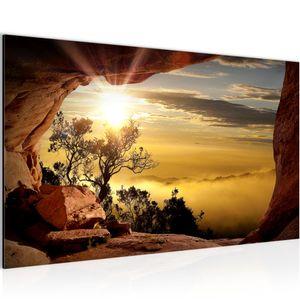 Landschaft BILD 70x40 cm − FOTOGRAFIE AUF VLIES LEINWANDBILD XXL DEKORATION WANDBILDER MODERN KUNSTDRUCK MEHRTEILIG 607614b