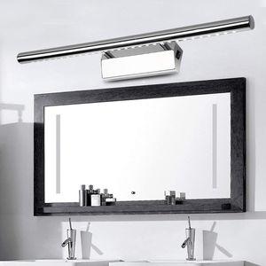 Spiegellampen LED Spiegelleuchte mit Schalter 7W/55cm Neutralweiß(4500K), 490lm, Badleuchte Schrankleuchte Wandleuchte Spiegellampe mit Erdungsdraht,  [Energieklasse A++]