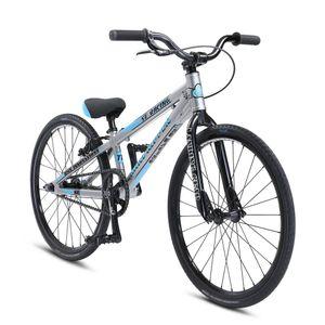 SE Bikes Mini Ripper 20 Zoll BMX Bike Fahrrad BMX Rad Stunt Old School Dirt 20', Farbe:silber