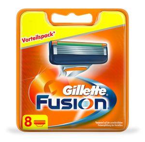 Gillette Fusion Rasierklingen Für Männer 8 Stück - Briefkastenfähige Verpackung