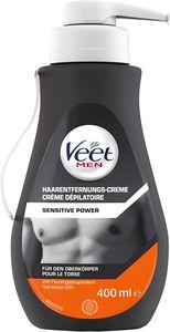 Veet for Men Enthaarungscreme Sensitive für Männer Haarentfernung 400 ml