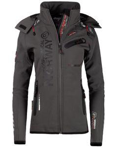 Geographical Norway Damen Jacke bareine Lady, Dark-Grey Assort XL