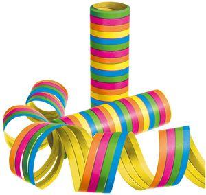 SUSY CARD Luftschlangen aus Papier 5 Farben 3 Rollen