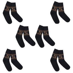 Ital-Design Herren Socken Socken Braun Gr.43/46