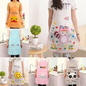 3 Stück Kinder Kochschürze Schürze Cartoon PVC Küchenschürze Latzschürze Arbeitskleidung Grillschürze für Jungen Mädchen