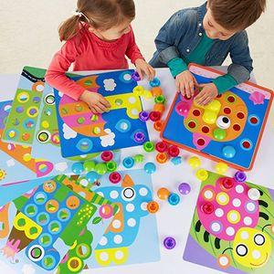 Steckspiel Mosaik Mosaikspiel zum Stecken für Kinder ab 3 Jahre