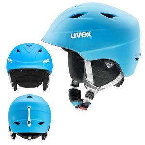 Uvex Airwing 2 pro - Skihelm für Kinder, Größe:54-58 cm, Farbe:blau