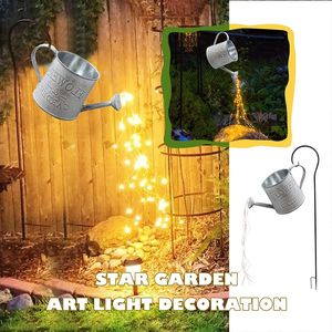 Led Lichterbündel Gießkannen-Dekor Lichterketten Gartenskulpturen und Statuen