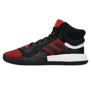 Adidas Marquee Boost Indoor Basketball Hallenschuhe Sneaker rot/schwarz/weiß G27735, Schuhgröße:41 1/3 EU