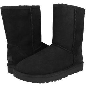 UGG Classic Short II Boot Stiefel Damen Schwarz (1016223 BLK) Größe: 38 EU