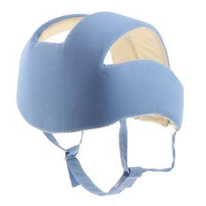 Baby-Kleinkind Helmet Schutzhelm Babyhelm Einstellbare Sicherheit Kopfschutz Blau . wie beschrieben