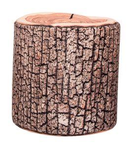 Magma Heimtex Sitting Point Sitzsack, Sitzhocker DotCom WOOD, D50x50 cm 100 l natur; 31091 080