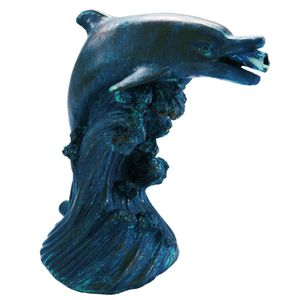 Brunnen- & Teichzubehör Wasserspeier Delfin 18 cm 1386020