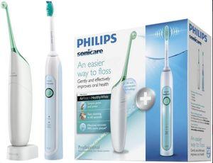 Philips HX8271/20 Sonicare AIRFLOSS & HealthyWhite Schallzahnbürste Vorteilspack