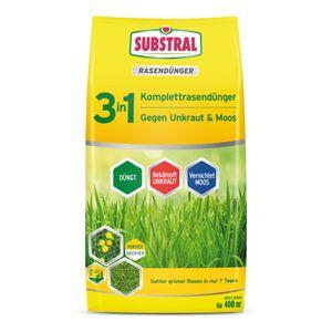 Substral 3in1 Komplett-Rasendünger 14 kg