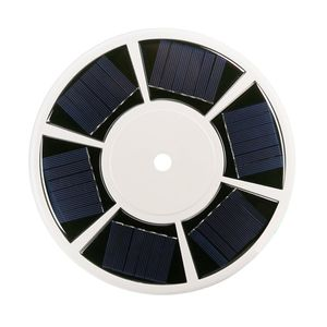 42 LED Fahnenmast Flaggenmast Solar Lichter Leuchte Fahnenstange Deko Lampe