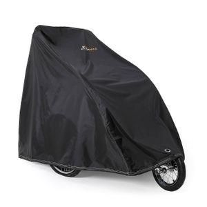 SAMAX Abdeckung für Fahrradanhänger - Schwarz