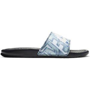 Nike Benassi Jdi Print Obsidian/Summit White 46