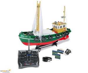 Carson RC Fischkutter Cux 15 100% RTR 2.4GHz Ferngesteuertes Boot / Kutter