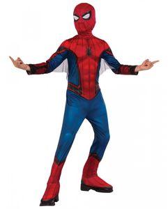 Spider-Man Kinderkostüm mit Maske als Superhelden-Verkleidung von Marvel Comics Größe: L