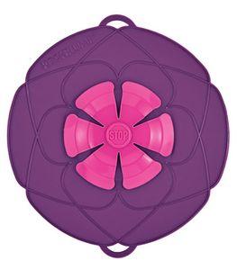 Kochblume 25, 5cm purple - Verhindert zuverlässig jedes Überkochen