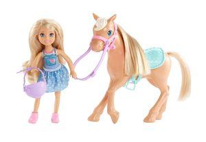 Barbie Chelsea Puppe und Pony