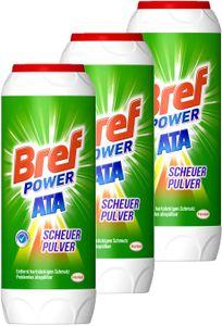 Bref Sidol Ata Scheuer Pulver 3er Pack Scheuerpulver Allzweckreiniger 3x500g