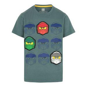 LEGO® Wear NINJAGO Jungen T-Shirt , Größe:140, Präzise Farbe:Dunkelgrün