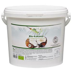 Kokosöl  - nativ, kaltgepresst -  5 Liter/PE-Eimer (100ProBio)