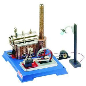 Wilesco Dampfmaschine Licht-Edition D 105