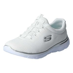 Skechers Summits Damen Low Sneaker Weiß Schuhe, Größe:38