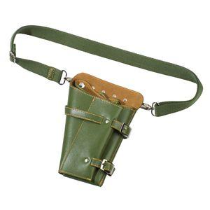 """Hairforce Werkzeugtasche """"Colt"""" Friseur Profi Salon-Scherentasche, grün"""