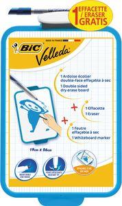 BIC Weißwandtafel Velleda Maße: (B)190 x (H)260 mm weiß blau