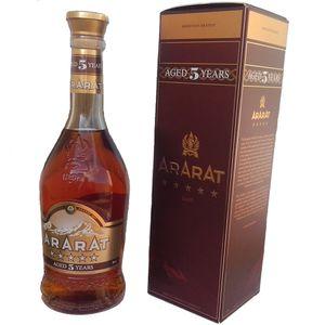 Armenischer Brandy Ararat 0,5L 5 Jahre Reifezeit Арарат