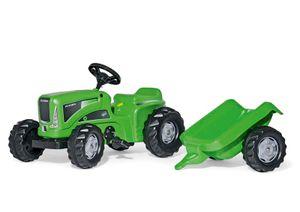 rolly toys Kiddy Futura grün Kid Trailer Trettraktor, Maße: 134x47x49 cm; 62 000 5