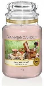 Yankee Candle Garden Picnic Duftkerze Großes Glas 623 g