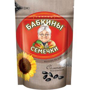 Sonnenblumenkerne Babkiny geröstet gesalzen 250g sunflower seeds семечки