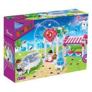 Konstruktion Spielzeig Bausteine Hochzeitszeremonie  BanBao 6106 Loving World