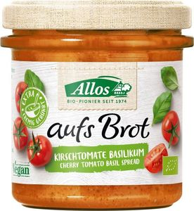 Allos Auf's Brot Tomate & Basilikum 140g