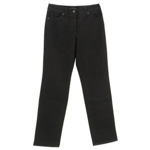 23103 Gerry Weber, Danny,  Damen Jeans Hose, Stretchdenim, black, D 36 Inch 28 L 32