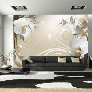 Vlies Tapete  Top  Fototapete  Wandbilder XL  350x256 cm  BLUMEN ORNAMENT DESIGN b-A-0060-a-d