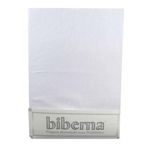 Biberna 02744-019-087 Feinbiber Spannbetttuch Hellgrau 180x200 200x200