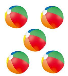 5x Bunter Strandball / Wasserball