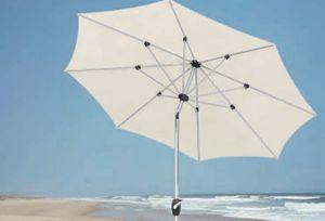 Best Polyesterschirm Kreta 270cm Ø/8-tlg. anthrazit