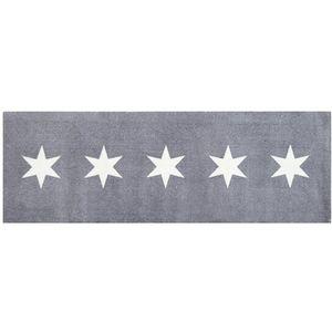 Giftcompany Washables Stars grau/weiß 66 x 185 cm Sauberlaufmatte Sterne