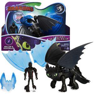 Drache Ohnezahn & Hicks | DreamWorks Dragons | Action Spiel Set | Toothless