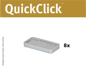 WAGNER QuickClick® Stuhlgleiter HYPER - 8er-Set Ersatzgleiter Ø 32 x 15 mm, DE Ware - 15791700